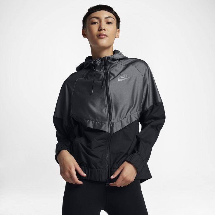 Jaqueta Nike Sportswear Windrunner Chambray Feminina   Nike