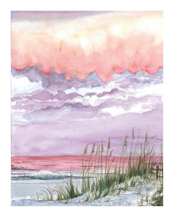 Nancy Hughes Miller Coastal Carolina Landscape Painting