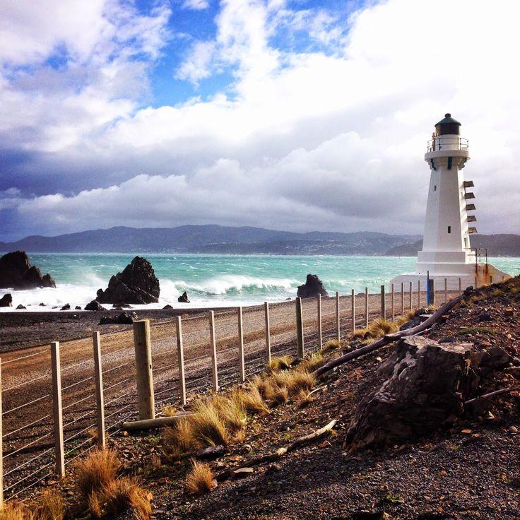 Pencarrow Head Lighthouse, Wellington, New Zealand   esdesign