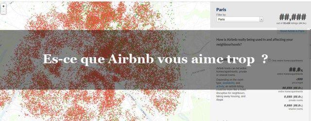 Airbnb est un site de location saisonnière qui rend vos données publiques