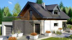 Casa de vis cu suprafata locuibila sub 100 m2 cu garaj si 3 dormitoare – proiect…