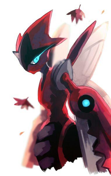 Pokémon - Mega Scizor! I'm so glad one of my favourite Pokémon got a mega form.