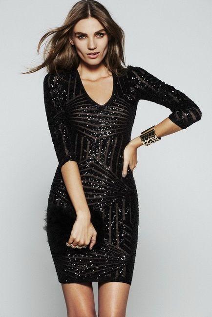 Новогодние платья BCBG MAX AZRIA