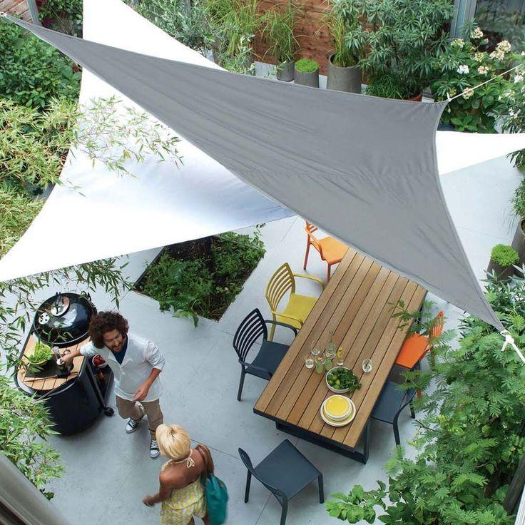 Les 25 meilleures id es de la cat gorie bache pergola sur for Parapluies ikea outdoor