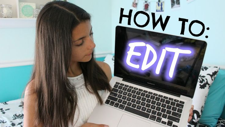 "Surprisingly good video on how to use iMovie to do basic ""fun"" things for YouTube videos"