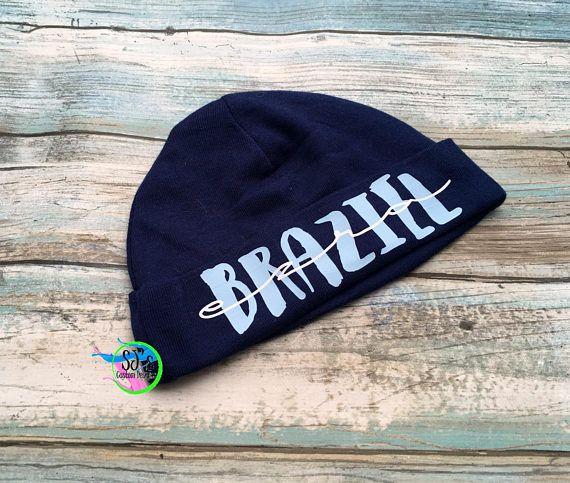 baby bot hat, personalized with the first and last name :)   #Babyboy #babygift #babyhat #babyboygift #newbaby #babyshowergift