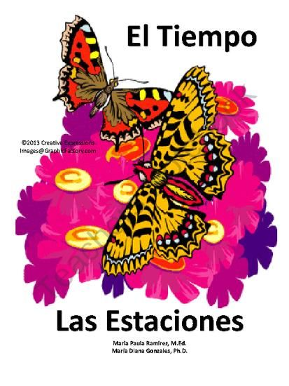 Spanish Weather Activities Lesson Plans & Worksheets