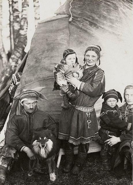 sami nomads | Nomad Sami Finland 1920s | Flickr - Photo Sharing!