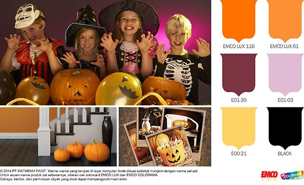Trick or Treat! #Future #Color #EMCOPaint  http://matarampaint.com/detailNews.php?n=241