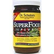 Dr. Schulze's Superfood Plus! 14oz Jar Whole Food Mineral Nutritional Supplement Meal Replacement POWDER