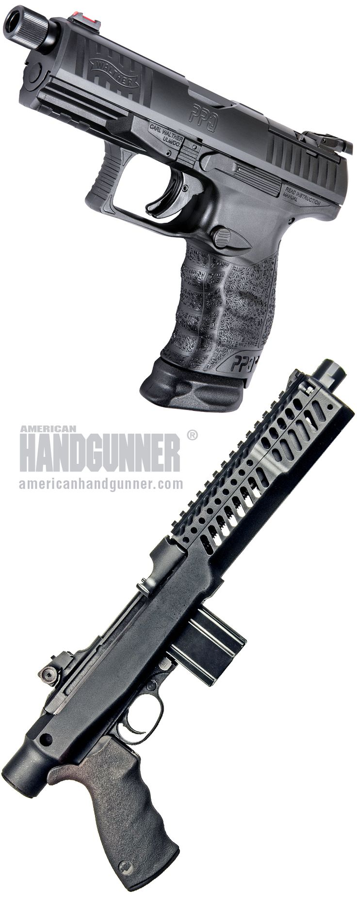 """Handguns: What's New, Updated — And Eye-Catching!   By Aimee Grant   Just when you thought it'd all been done we discover nope, there's more to come! Here's just a few to tease, tempt and otherwise give you the """"Gotta' have-it's.""""   © American Handgunner 2018"""