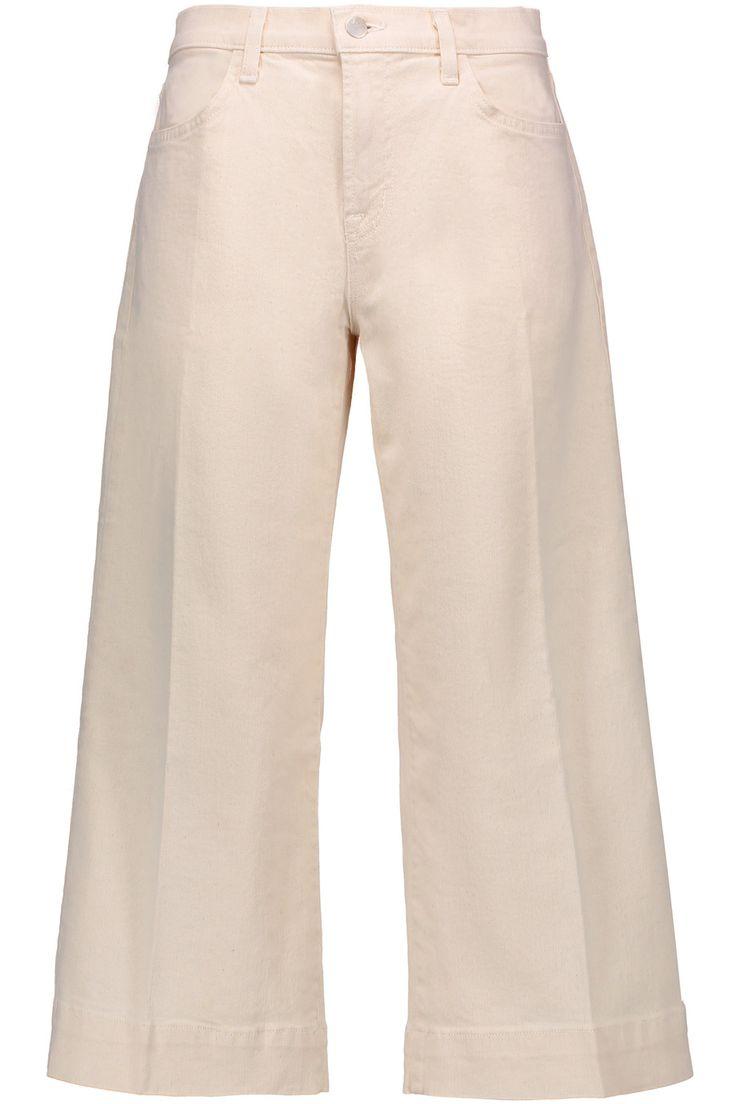 J BRAND Liza denim culottes. #jbrand #cloth #culottes