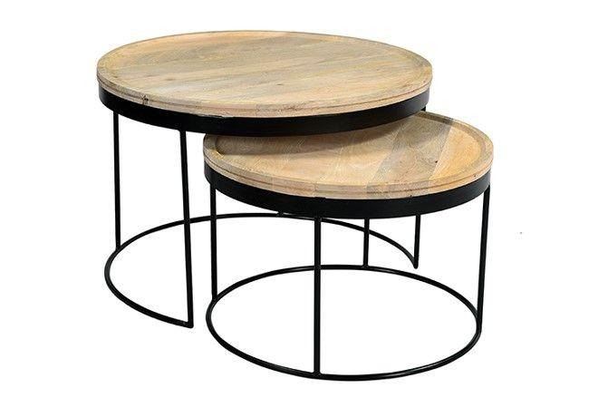 Achat Meuble Pas Cher Meubles A Prix Discount Canape Cuisine Lit Table Ventes Pas Cher Com En 2020 Table Basse Gigogne Mobilier De Salon Table Basse