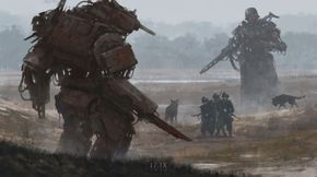 Jakub Rozalski's Art is an Exercise In Alternate History Contrasts
