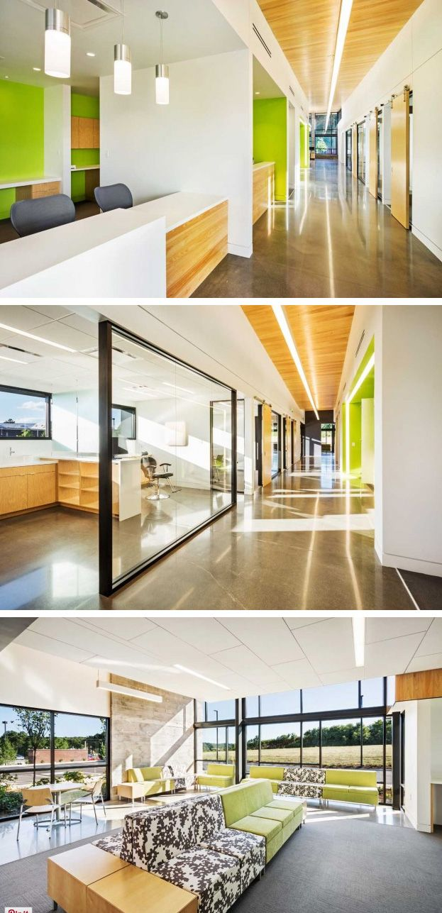 BarberMcMurry Architects designed a new location for Hicks Orthodontics in Lenoir City, Tennessee. #dental #healthcare