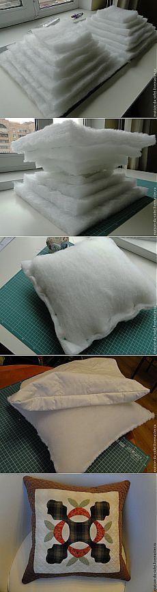 Шьем подушку - Шьем легко и красиво