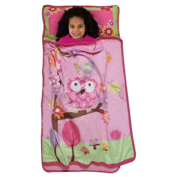 Woodland Nap Mat Pink (Toddler) - Baby Boom
