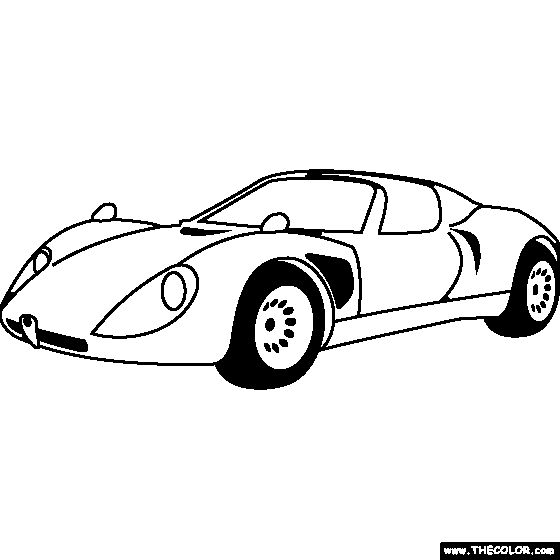 32 best Race Car coloring pages images on Pinterest