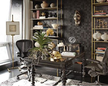 wall street office decor. habitually chic®: designer visions: wall street by richard hallberg office decor