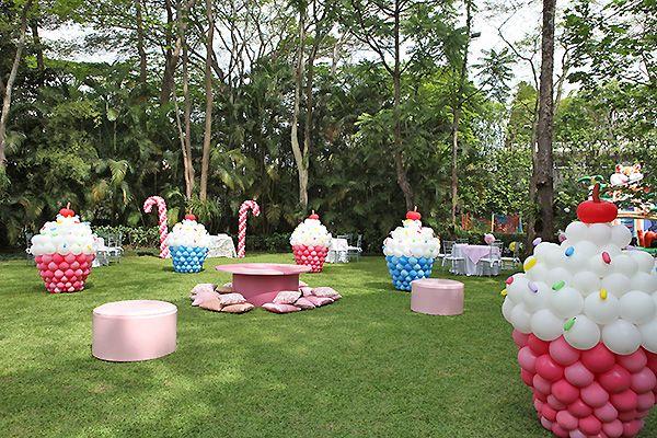 A Cupcake Theme: Cupcake Balloons