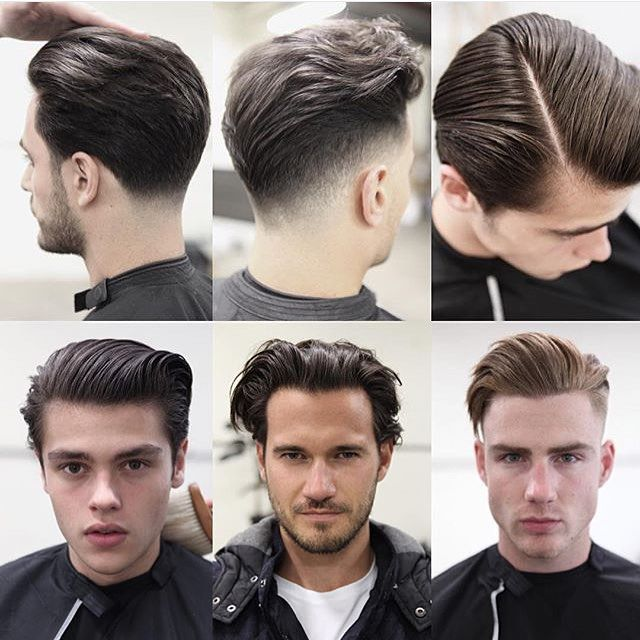 These Are The Best Hairstyles For Men In Their 20s And 30s: Pull Back Hairstyles Guys