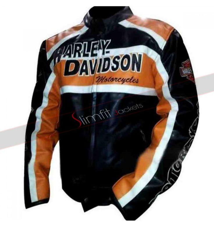 Harley Davidson Leather Fur Jacket
