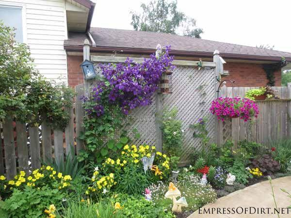 25 Creative Ideas For Garden Fences Gardens Memorial