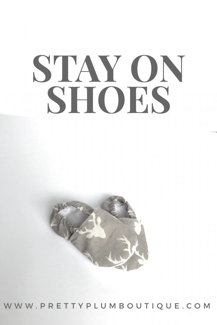 Stay on Shoes, Soft Sole Shoes, Baby Shoes, Toddler Shoes, Slip on Shoes // #babystyle #prettyplumboutique #toddlerstyle #babyshoes #toddlershoes