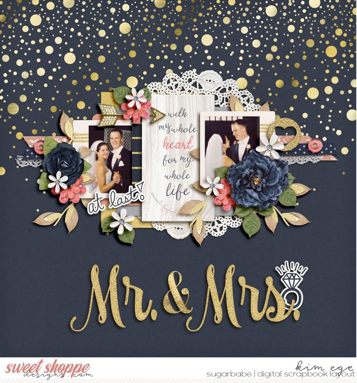 Digital Scrapbook Layout using Eternal Blush by Dream Big Designs and Melissa Bennett and Remember Those Days #3 templates by Two Tiny Turtles (found at Sweet Shoppe Designs)