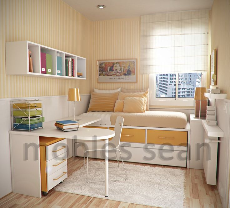 Top 25 best very small bedroom ideas on pinterest Very small apartment design