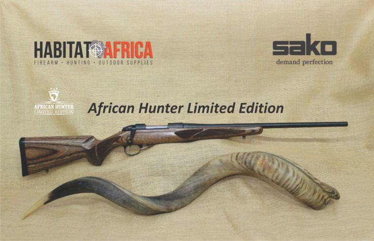 """TheSako Model 85 African Hunteris a limited edition rifle, specifically manufactured with the harsh African conditions in mind. It caters for the shooter looking to achieve top performance through innovation, while at the same time preferring classic styling and feel. It's an """"old world"""" platform rifle based on modern innovation [...]"""