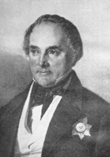 Eduard Heinrich Flottwell (23 July 1786 – 28 May 1865; after 1861 von Flottwell) was a Prussian Staatsminister.   Flottwell was born in Insterburg in the Province of East Prussia (present-day Chernyakhovsk in Russian Kaliningrad Oblast), studied law at the University of Königsberg and entered the civil service at the Insterburg court in 1805; from 1812 he was a member of the East Prussian Regierungspräsidium of Gumbinnen