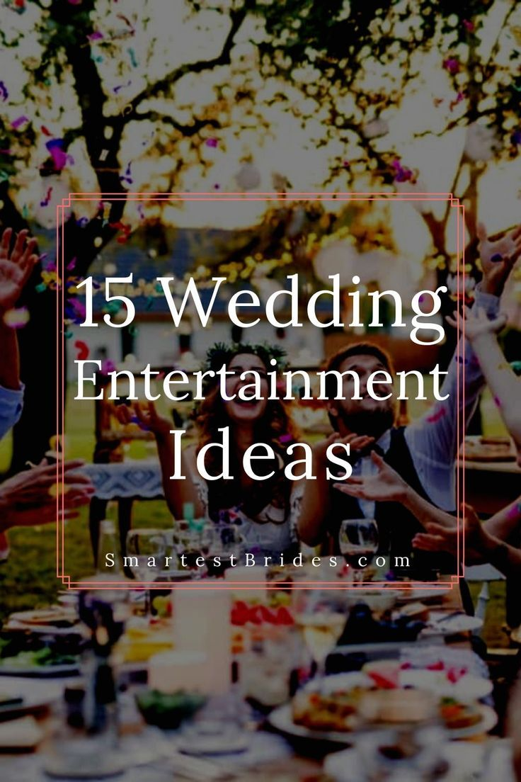 There are so many great wedding entertainment ideas that are perfect for guests. This list will also give you ideas on how to make your own unique ent…