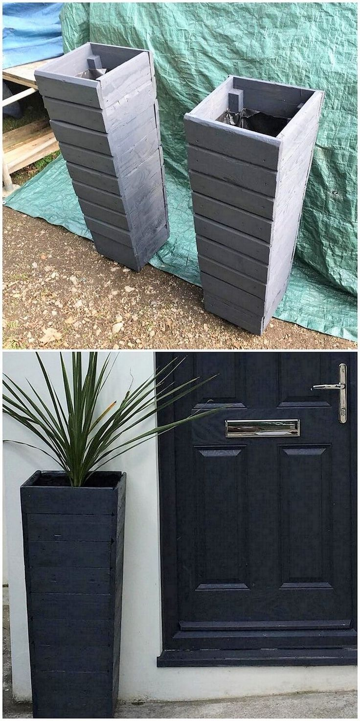 This project of the wood pallet creation of planters brings out the flavor of adding your garden with the elegant look of beauty! Here the interesting concept of the wood pallet planter has been finishing with the custom addition of the design approach that turns out to be brilliant looking.