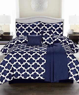Best 25+ Navy blue comforter ideas on Pinterest ...