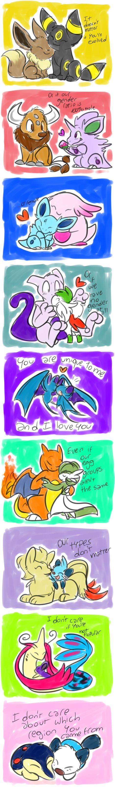 best pokemon way to show that u love them <3333 ~I wish someone did that to me T~T