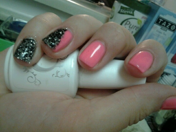 Gel nails design by me :)