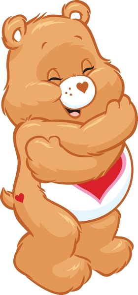 Tenderheart Bear gives the best hugs!