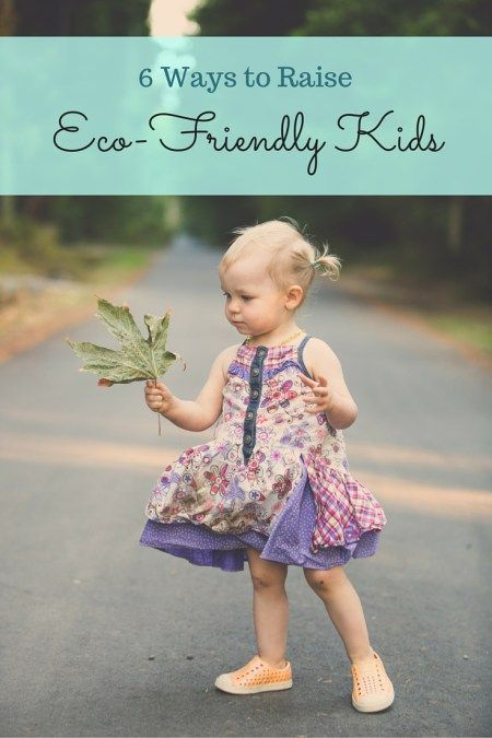 Eco-Friendly parenting practices for green-living and eco-conscious families.