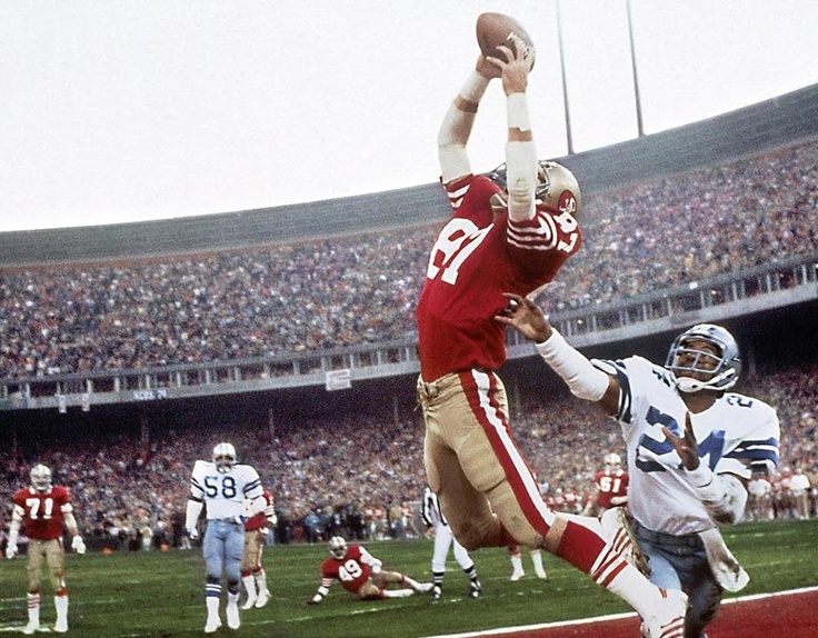 Dwight Clark. San Francisco 49ers