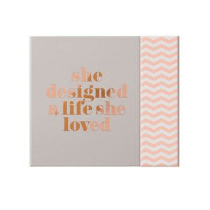 Zoella Lifestyle She Designed A Life She Loved Stationery Book