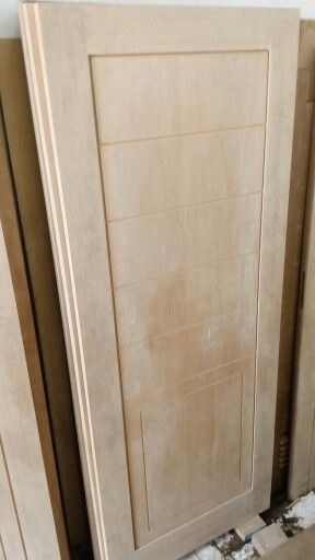 Kamper wood for modern door