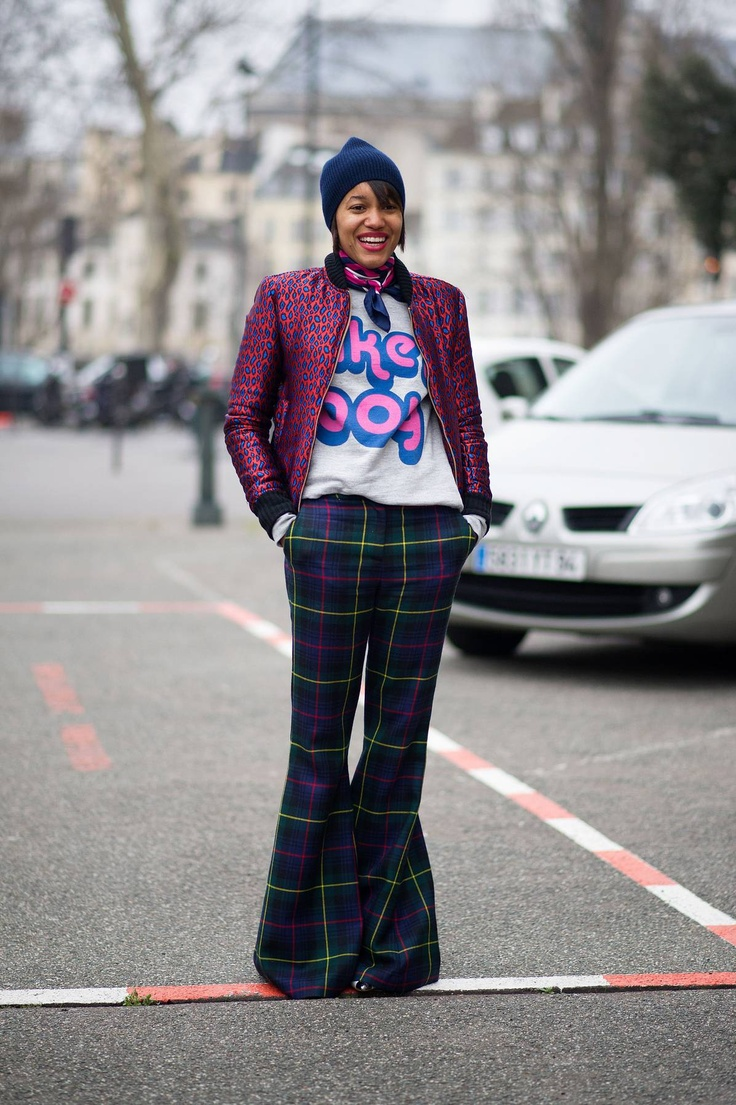 Color printing tamu - Street Style Paris Narrows In On Prints And Accessories