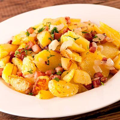 Recipe for Bratkartoffeln (German Fries)