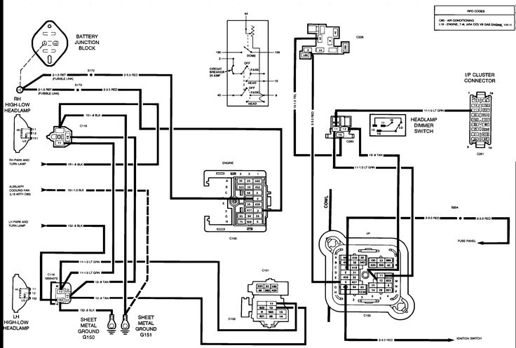 junction box wiring diagram - http://www.automanualparts ... 1967 fuse box wiring diagram mustang diagrams santee box wiring diagram