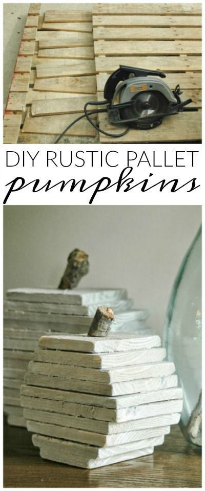 These palette pumpkins are the cutest!