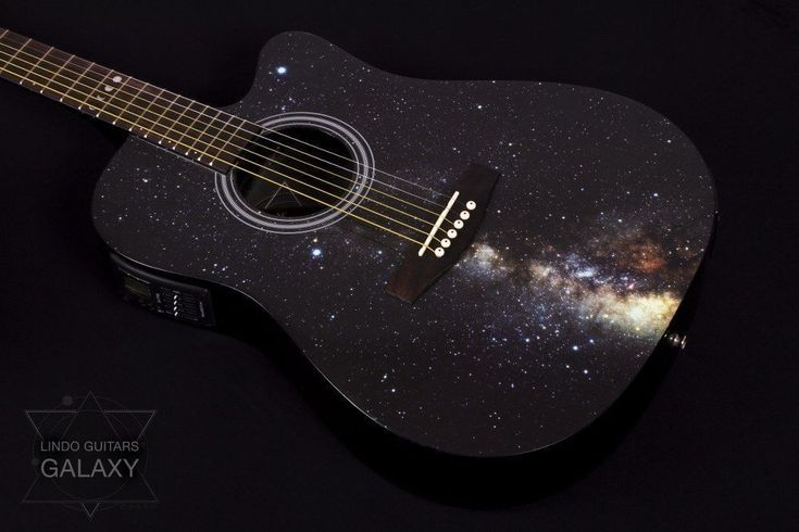 Lindo Galaxy Slim Electro Acoustic Guitar With Integrated Tuner Preamp Gigbag | eBay