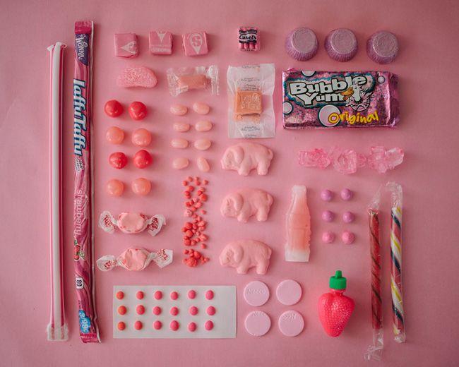 Sugar Series, golosinas organizadas por colores para saltarnos la dieta de forma ordenada - 1/7 - Tamaño original
