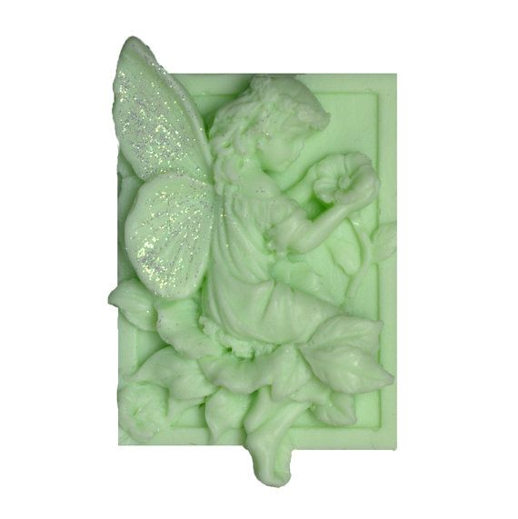 Fairy Soap  Green Soap   Organic Soap  Vegan by EnchantedBeehive, $5.25