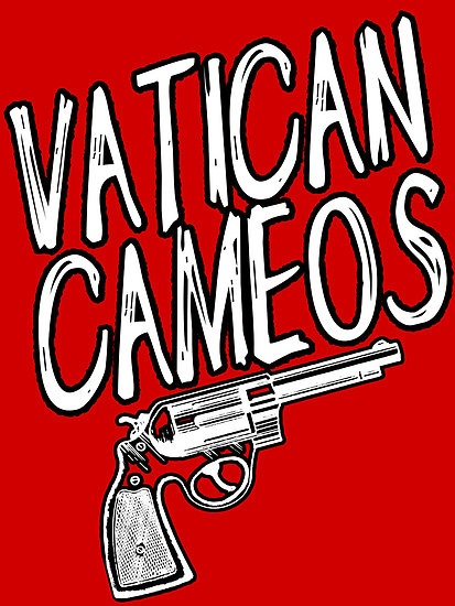 """In WWII the phrase ""Vatican Cameos"" was used when a person who was not in the British army came before the general, or other high up ranks, as a signal to the other officers that the person was armed. So when Sherlock says ""Vatican Cameos"" to warn John that the safe has a gun in it, it's not something that they've set up as a code word- It's a code Sherlock knew John would know- being a soldier!"" Quoted from winterkisseswhenyourlipswereblue.tumblr.com"
